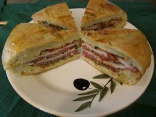 Muffuletta Sandwich | Fresh by Northwest