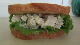 Fresh Albacore Tuna Sandwich