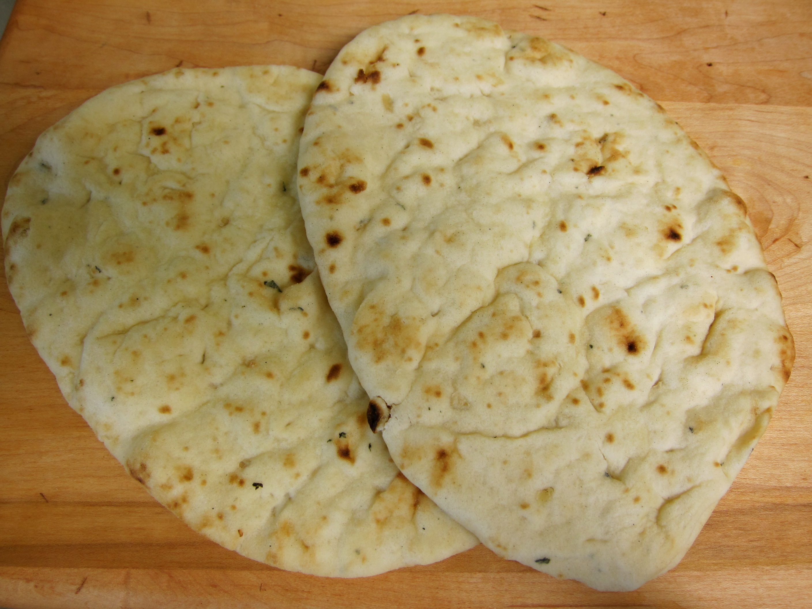 Naan Bread Recipe — Dishmaps