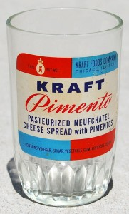 kraft pimento cheese spread juice glass