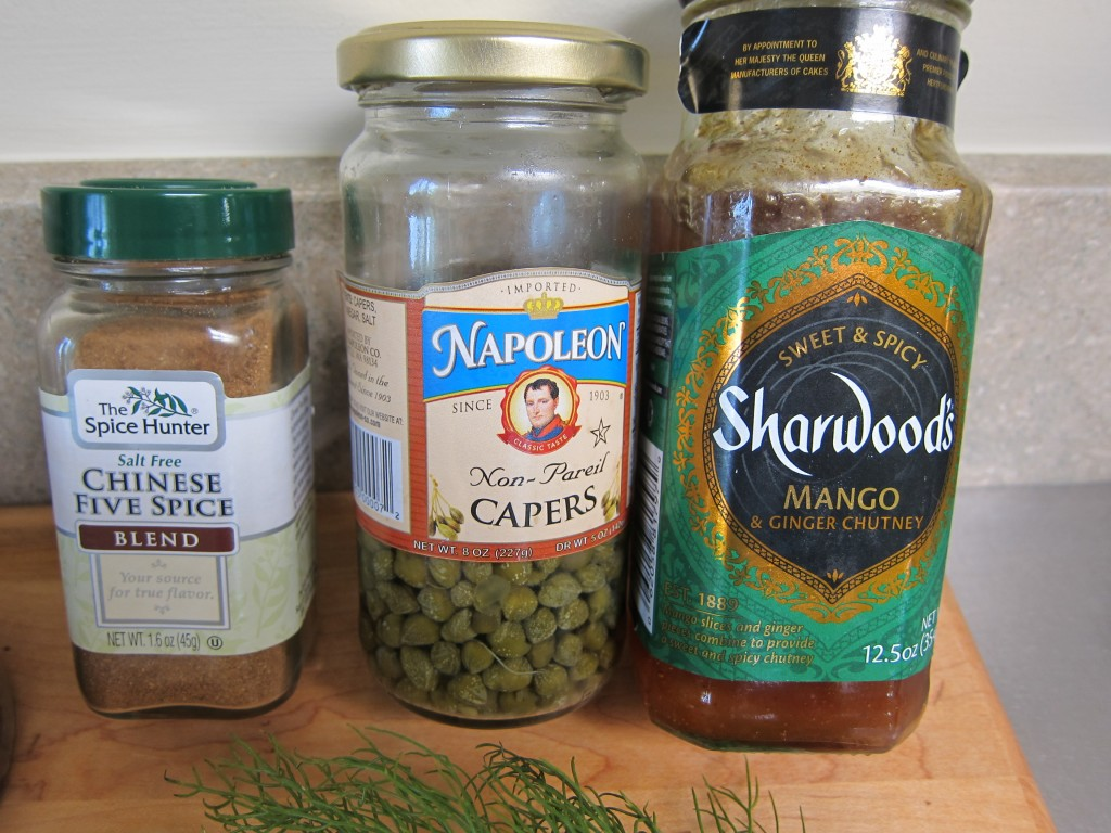 Spices, Capers, Chutney